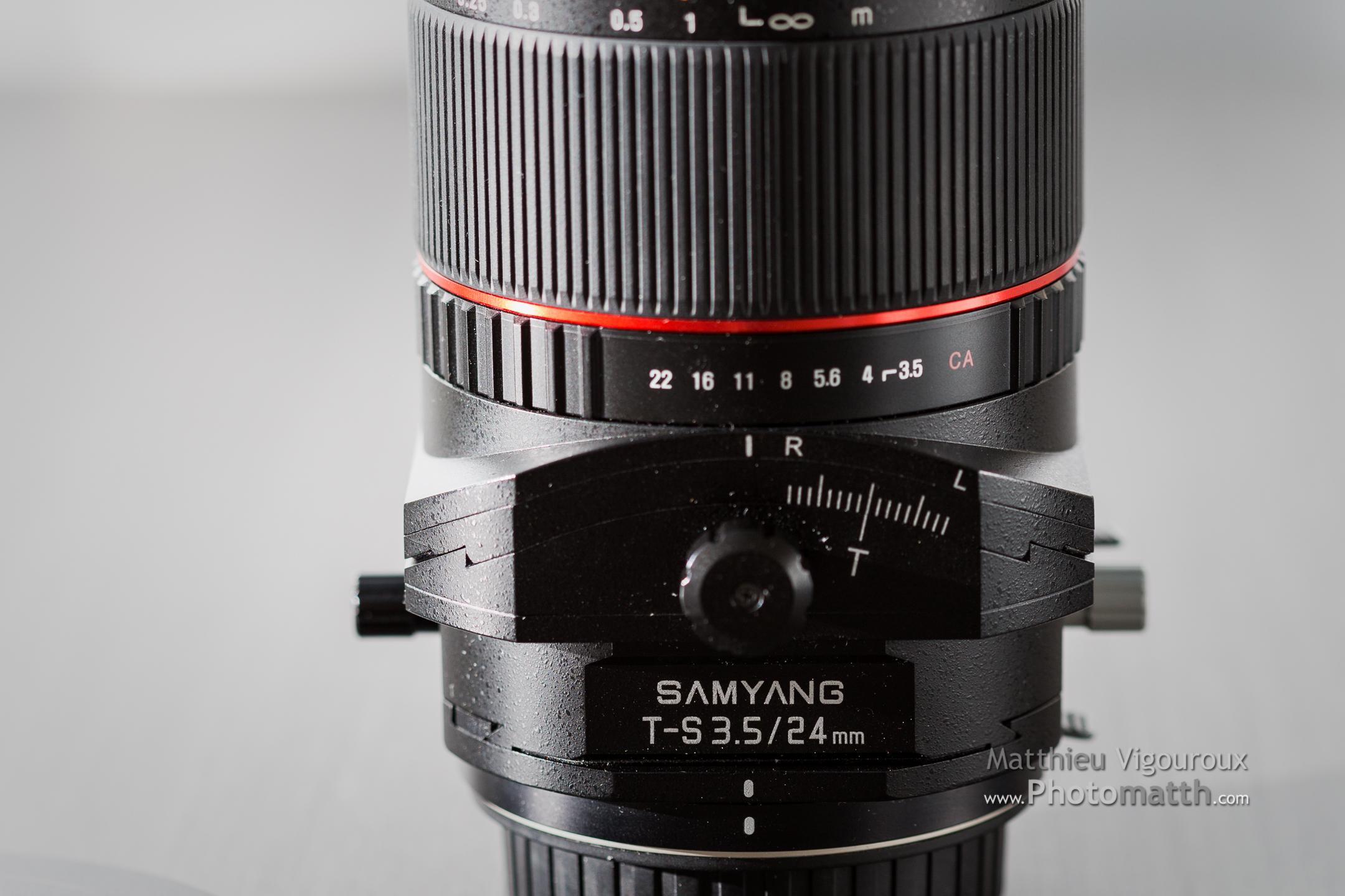 Test| Samyang T-S 24mm 3.5 (Tilt shift) | Premières impressions