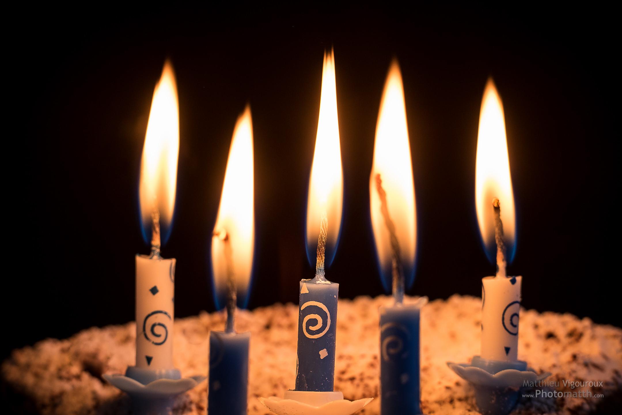 5 bougies pour les 5 ans de Photomatth