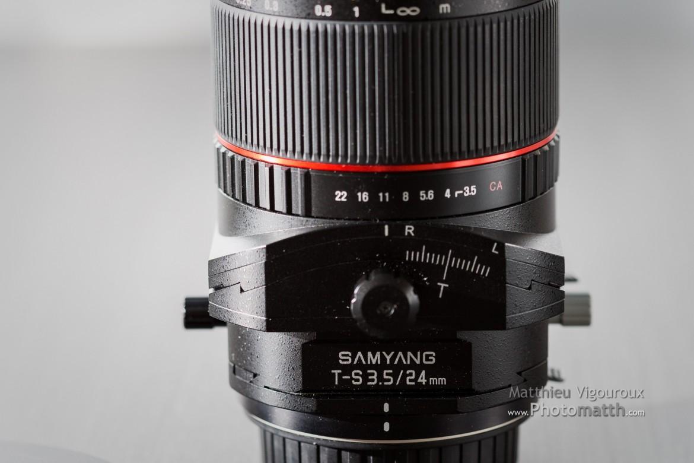 Test | Samyang T-S 24mm 3.5 (Tilt shift) | Premières impressions