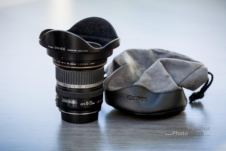 À vendre | Objectif | Canon EF-S 10-22mm F3.5-4.5 USM
