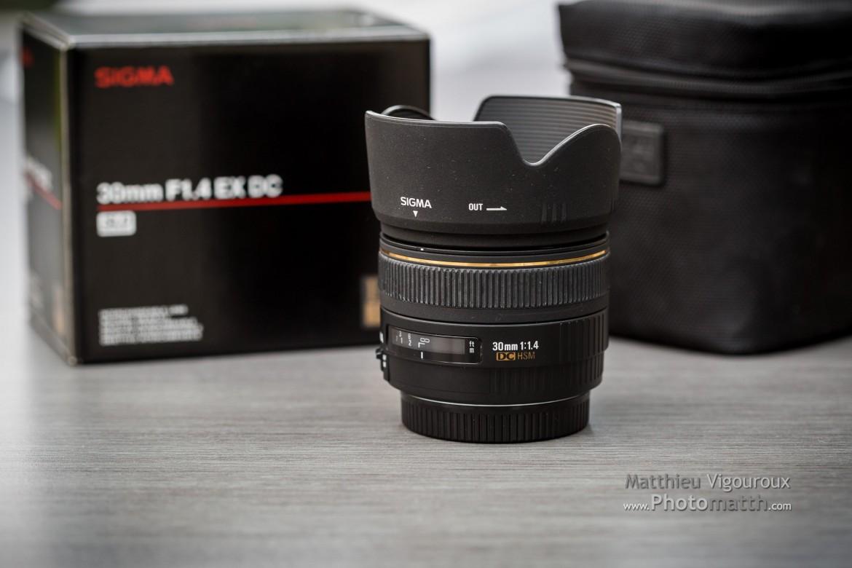 À vendre | Objectif | Sigma 30mm F1.4 HSM EX DC