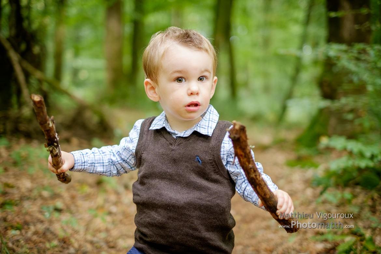 Séance en extérieur | Rafael en forêt