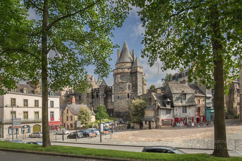 Château de Vitré au mois de mai